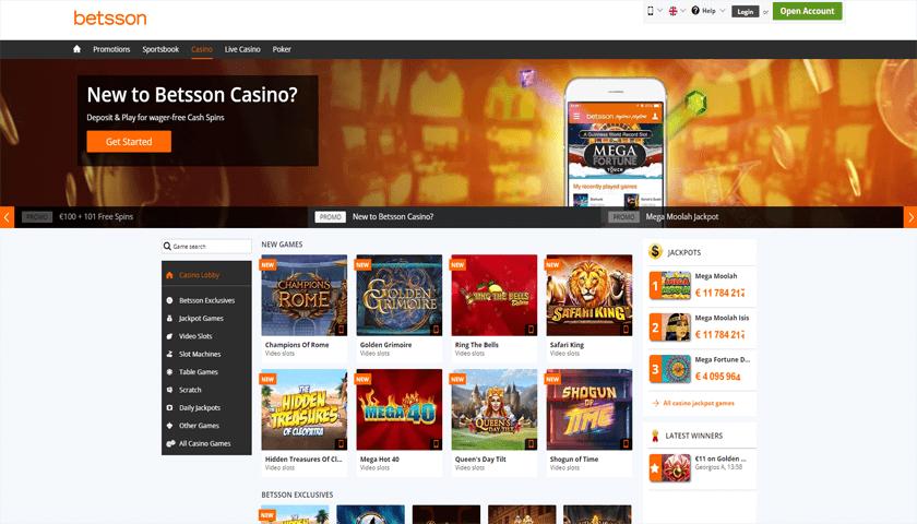 Betsson – Ett av Sveriges äldsta spelbolag